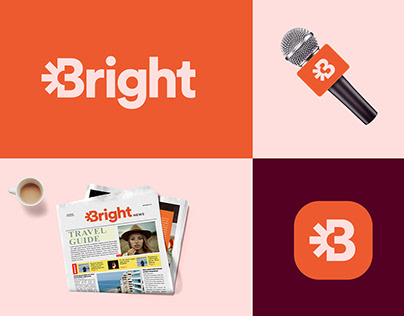 Bright News - Logo and Brand identity design