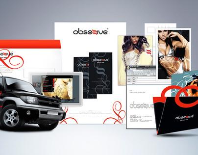 Obsessive Lingerie co. | Corporate Identity Re-design