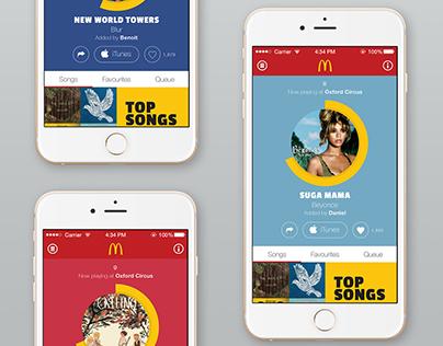 McDonald's Music Broadcast