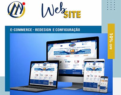E-COMMERCE - DESIGN WEB SITE
