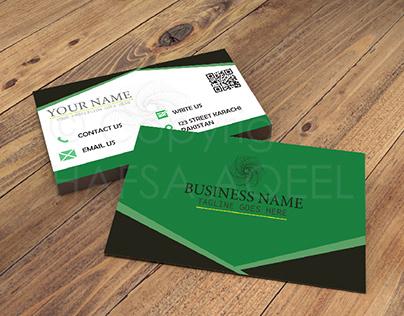 BUSINESS CARD DESIGN V | ©Hafsa Aqeel