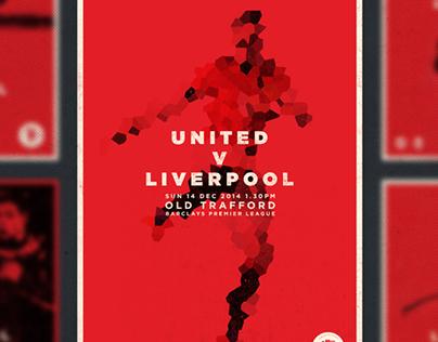 U.N.I.T.E.D Match Day Posters