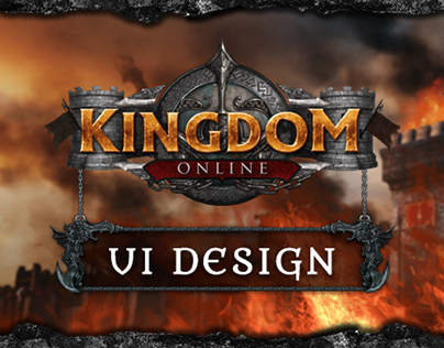 Kingdom Online UI Design
