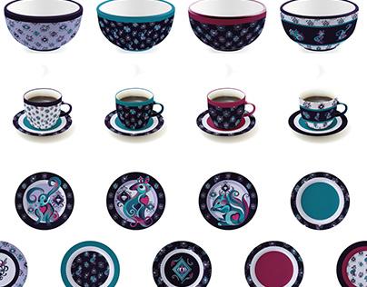 Kitchen Houseware Designs and Patterns