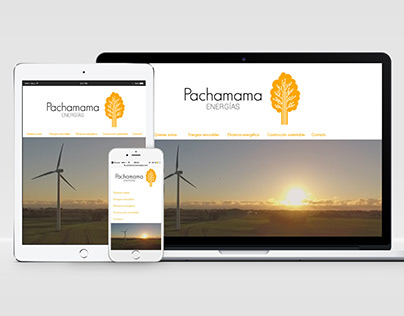 PÁGINA WEB WIX/ Pachamama • energías