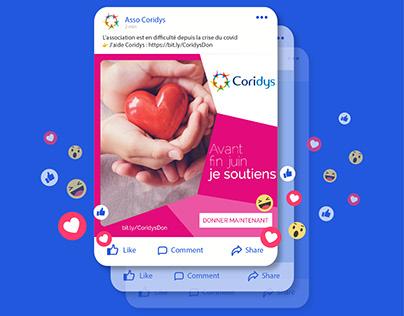 Fundraising campaign - social media post