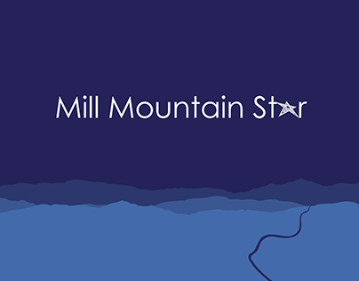 Mill Mountain Star Poster