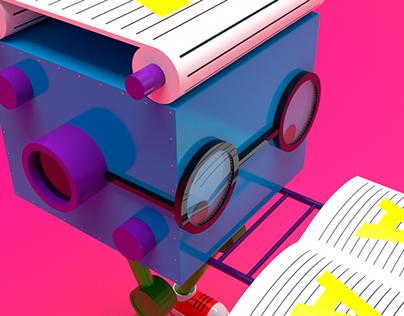 Come livro - 3D model studies