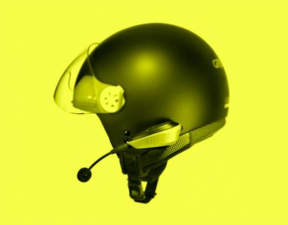 Buhel D01 - Boneconductive Headphone For Helmets