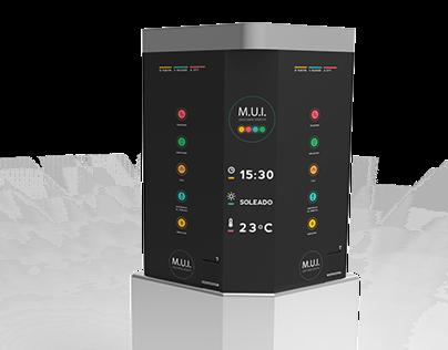 MUI (Modulo interactivo urbano)