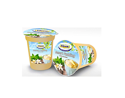 packaging design of yogurt