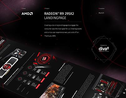 AMD Radeon Landingpage