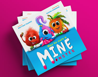 Cover design and illustrations for children's book