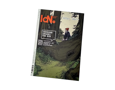 IdN v24n3: Sequential Art, Comics & Illustration
