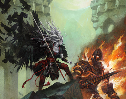 Fantasy Cover - Ravens Purge