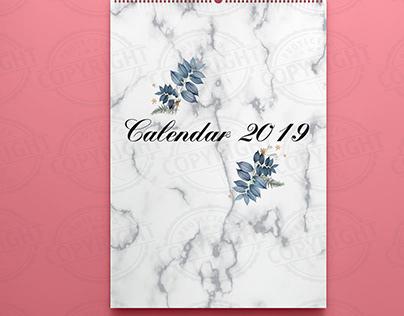 Calendar & Notebook 2019