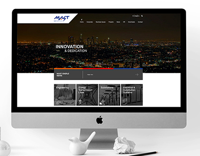 Mast - Website & Brand Identity