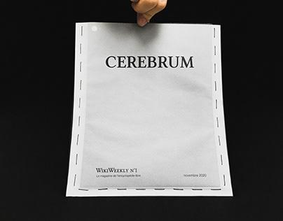 Cerebrum Fanzine - EDITORIAL DESIGN