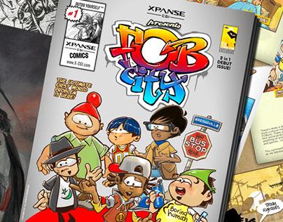 FOBcity Comics