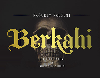 Berkahi Blackletter Font