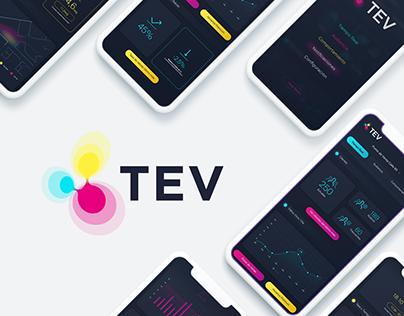 T.E.V. | App Design | Brand/UX/UI | 2018