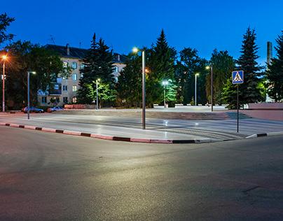 Сквер имени Григорьева в Нижнем Новгороде