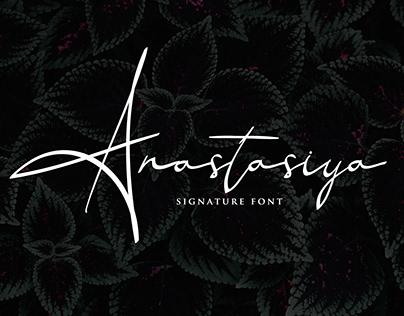 Anastasiya Signature Font