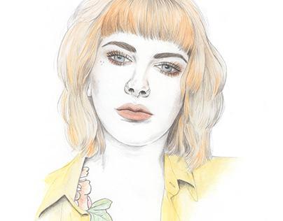 Beauty illustration alternative / tattoos