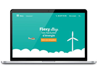 UX / UI Design for Flexy's new website