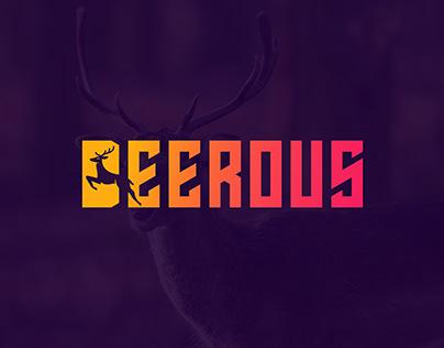 Deeroug logo design