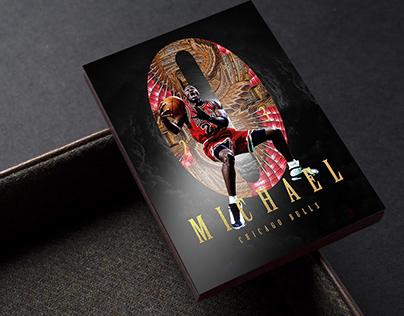 Vortex Michael Jordan Chicago Bulls Artwork Concept