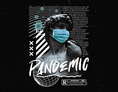 Pandemic Artwork - Hoodie Merch