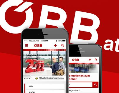ÖBB Responsive Webdesign