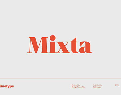 Mixta by LatinoType