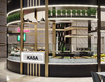 Hüseyin Çakar Mimarlık - Batışehir Restaurant Projesi