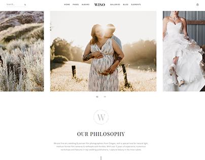 WISO - Creative Theme for Photographers