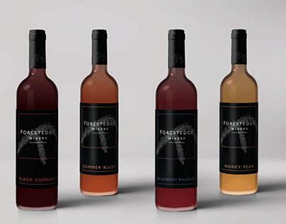 Rebrand & Packaging | Forestedge Winery