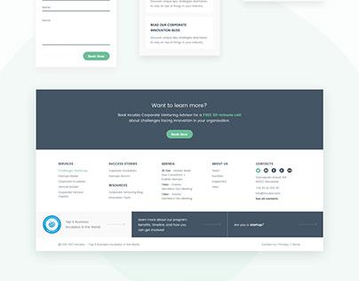 Incubio — Corporate Incubator Website