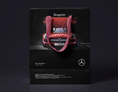 Mercedes Paper Bag