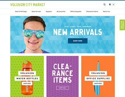 Volusion City Market