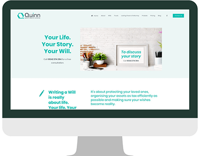 Squarespace Website Design Examples