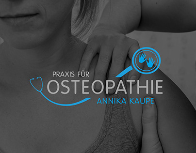 CORPORATE DESIGN Praxis für Osteopathie Annika Kaupe