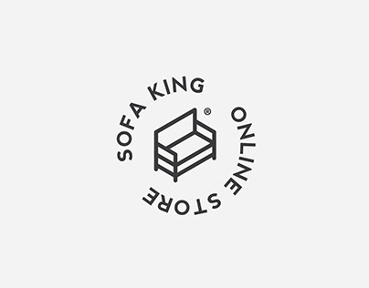 SofaKing logo design