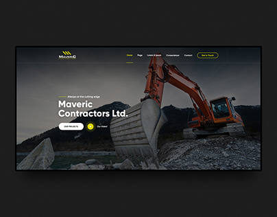 Maveric — Civil Engineering Contractors Website