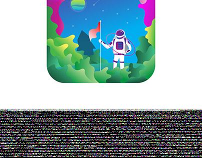 An Illustration for NASA