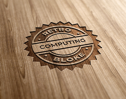 Logo for laser cutting and engraving in wooden