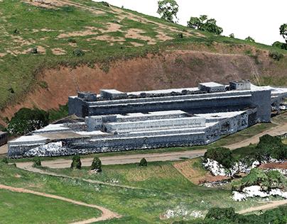 Nuvem de Pontos | Hospital Governador Valadares