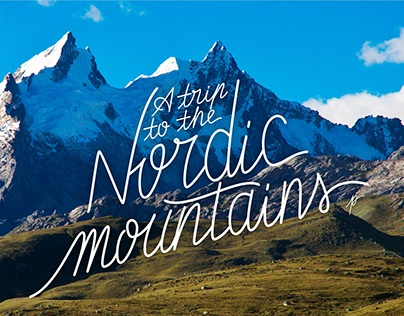 A trip to the Nordic mountains
