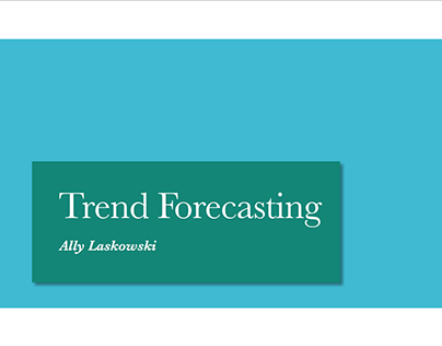 Trend Forecasting In Rome 2019