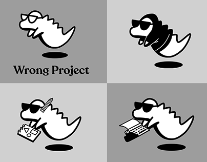 Wrong Project- logo design